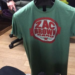 Zac Brown Band T-shirt.